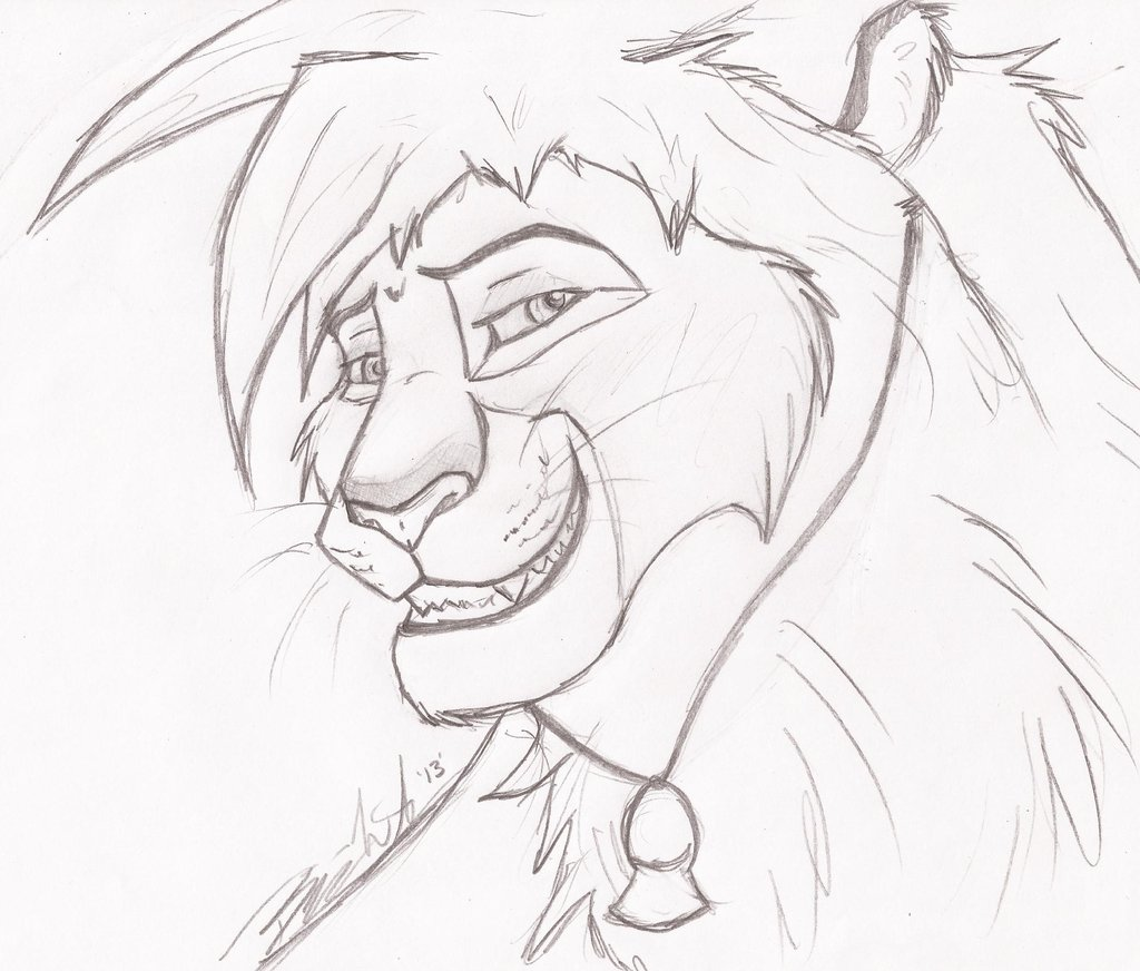 1024x872 Lookit That Smirk Sketch By Green Eyed Tiger