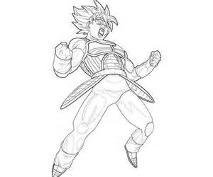 300x250 Bardock Coloring Pages