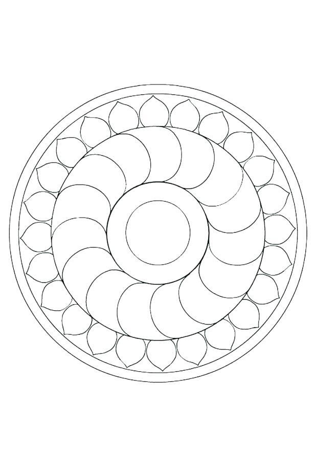 618x914 Mandala Drawing Printable Mandala Coloring Pages A Coloring Pages
