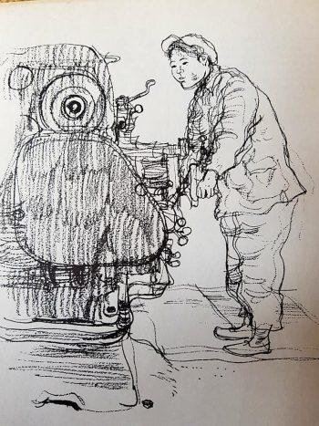 350x467 Paul Hogarth's Creative Pencil Drawing Retroculturati