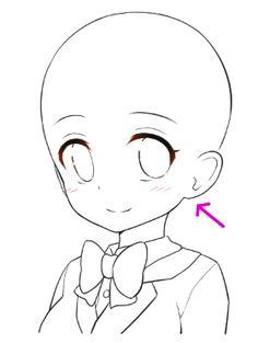 236x313 Anime Boy Base Cat Hoodie Base By Natalielobsters Drawing Help