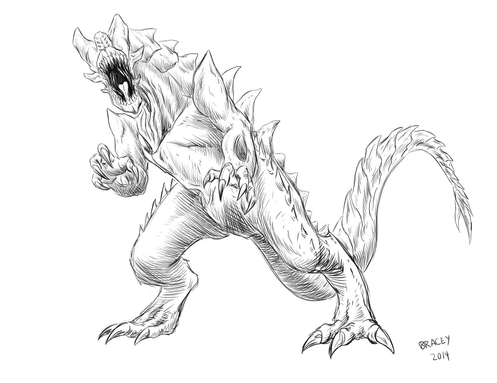 1600x1236 Kaiju Commissions