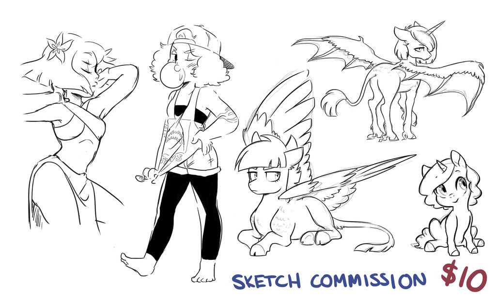 1024x620 Paypal Sketch Commissions Closed By Kilalaaa