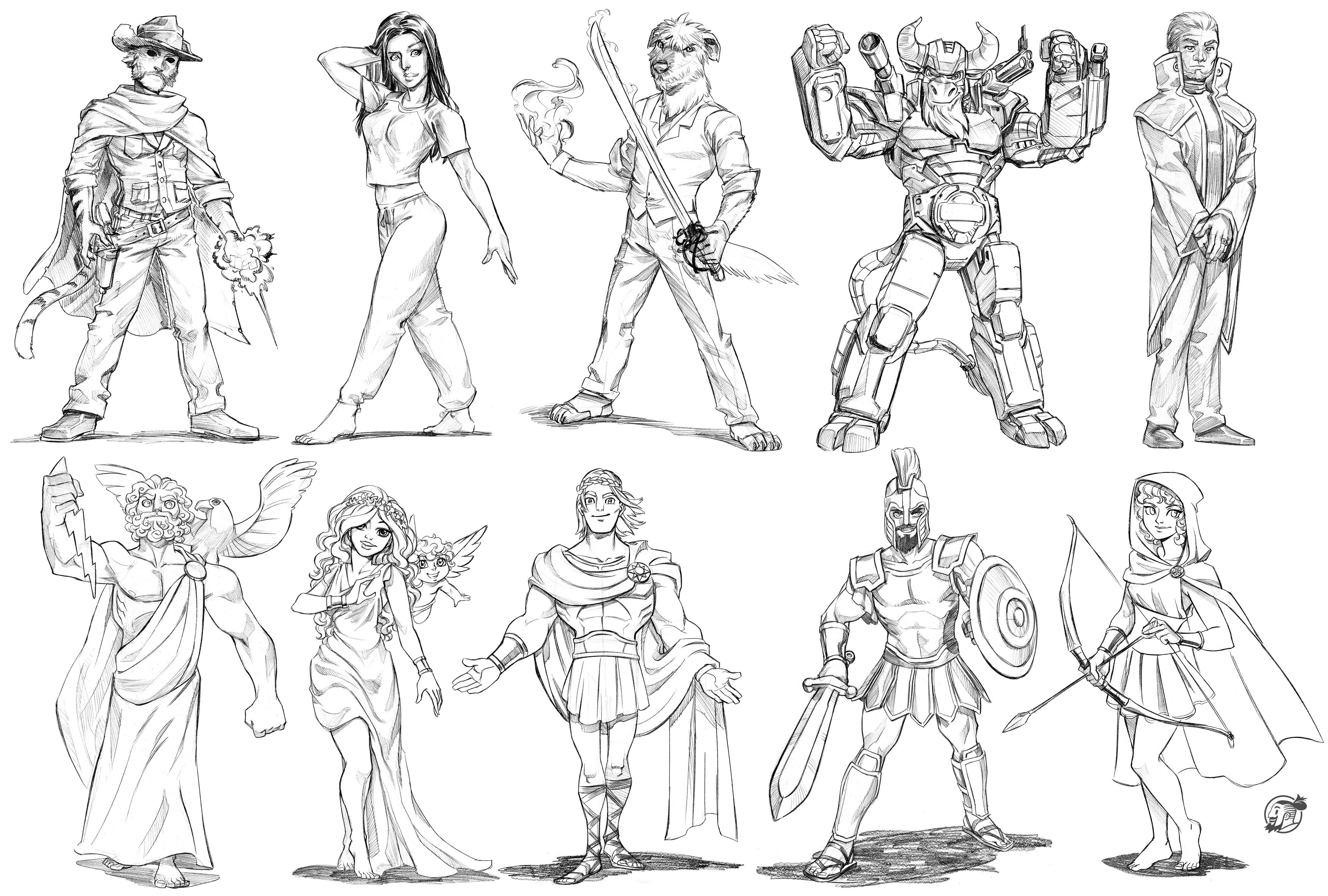 4536x3062 71 To 80 Sketch Commissions By Estivador
