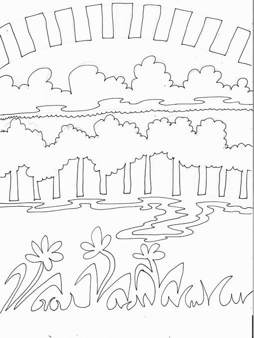 Drawing Contour Lines Worksheet