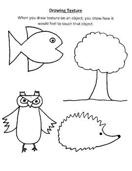270x350 Texture Worksheet Teaching Resources Teachers Pay Teachers