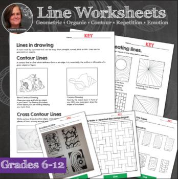 348x350 Elements Of Art Worksheets Amp Mini Lessons