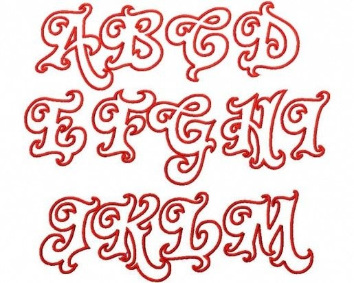 Drawing cool letter design at getdrawings free for personal 515x413 cool alphabet letter designs 50 altavistaventures Image collections