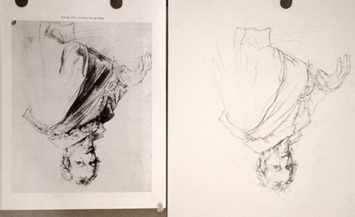 500x306 Drawings To Copy Old Master Drawing Copy Van Dyck Ideas