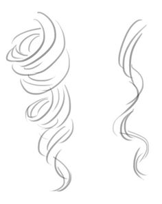 236x298 How To Draw Curly Hair4.jpg Drawing Curly, Drawing