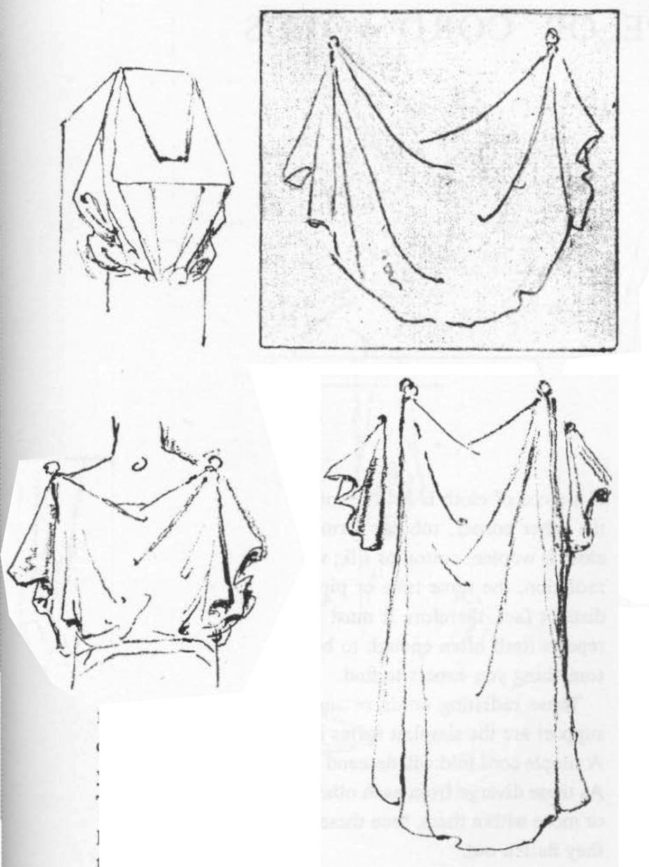 930x1242 Drawing Diaper Folds ( Drapery Folds