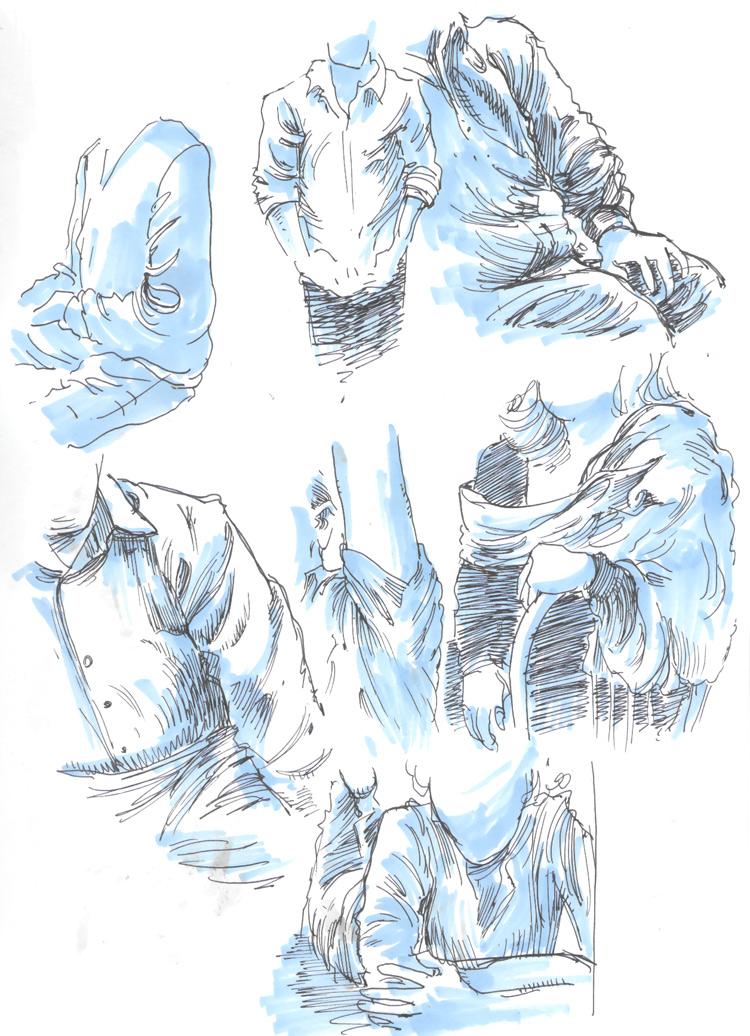 750x1036 Drawing Drapery Folds Ben Towle Cartoonist, Educator, Hobo