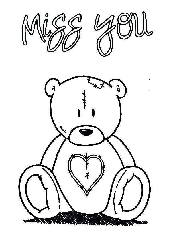 600x844 I Love You Boyfriend Coloring Pages Download Fresh Miss You