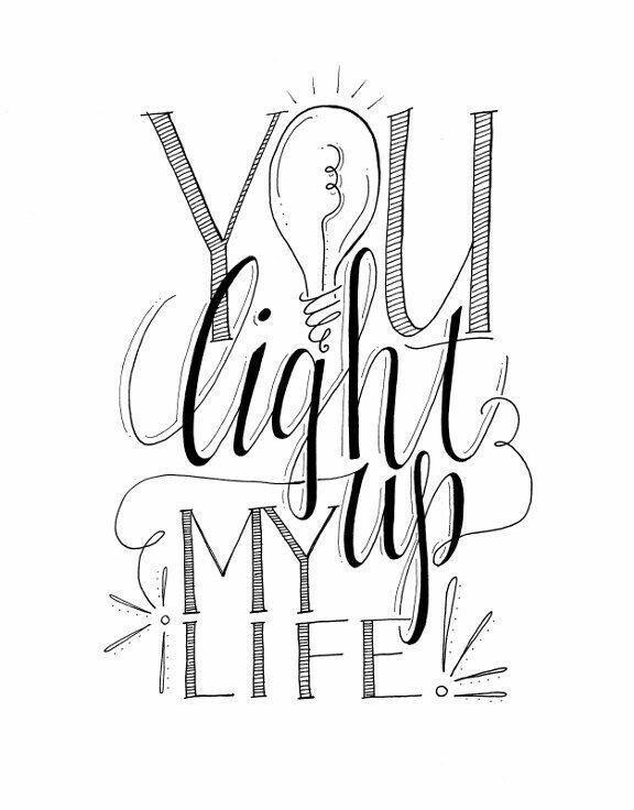 576x736 You Light My Life Up Stationery Boyfriends