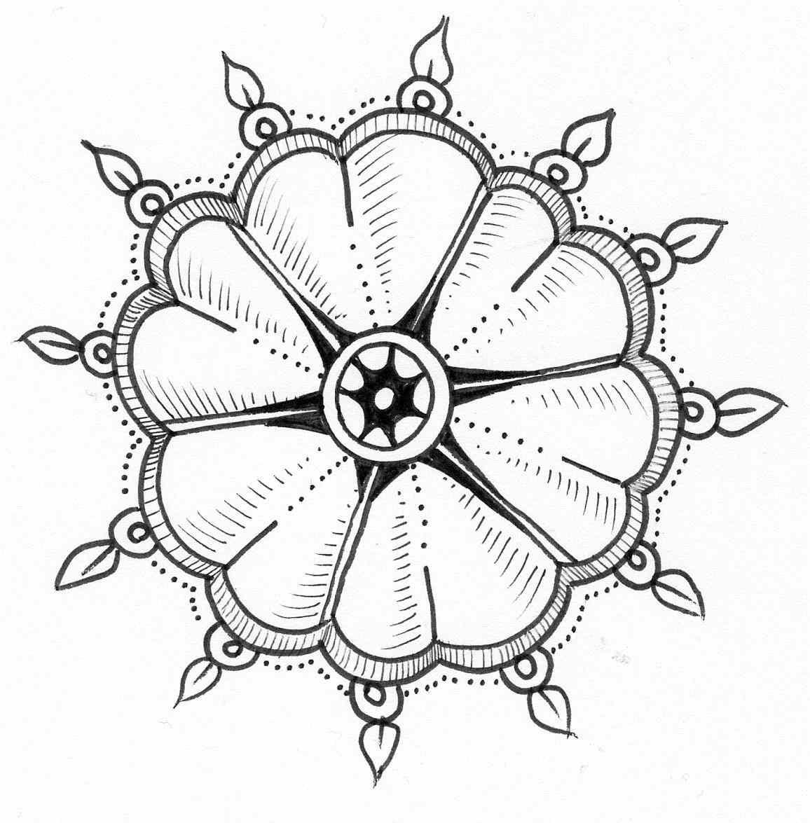 1156x1175 Flowers Drawings Simple Flower Drawing Ideas On Easy