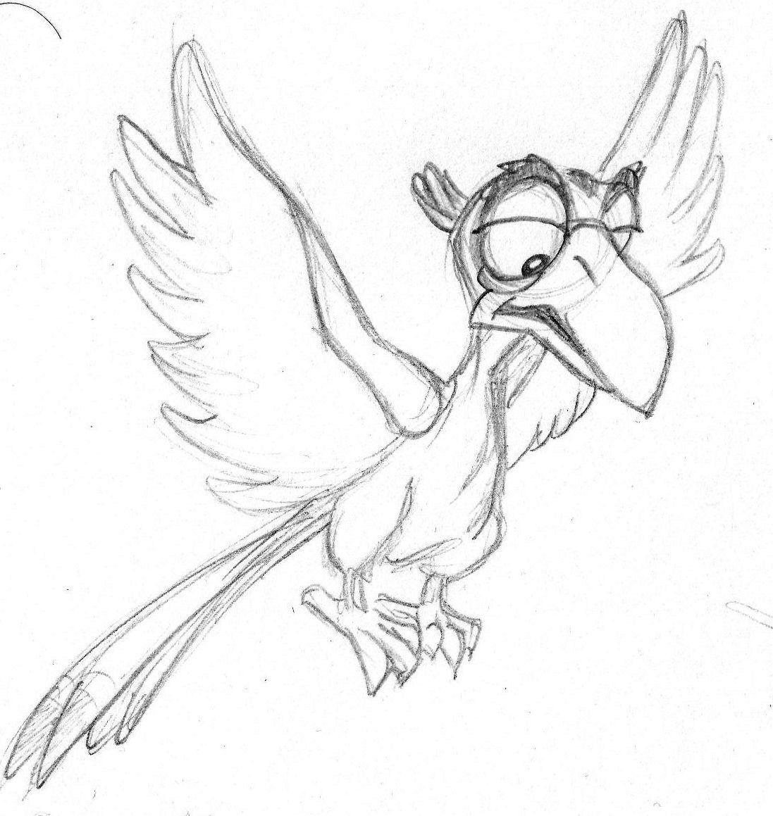 1097x1159 Disney Sketch