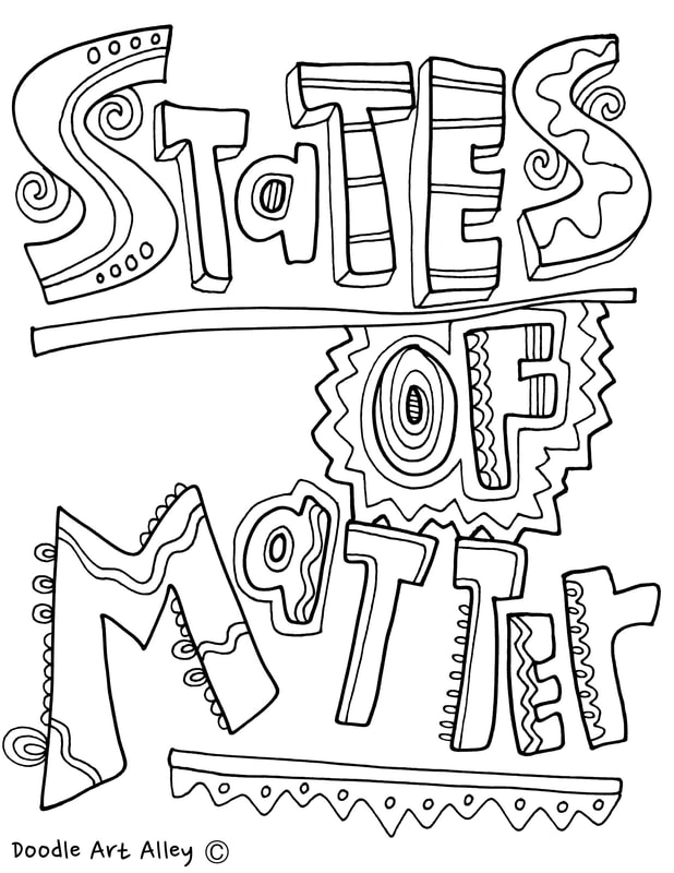 618x800 States Of Matter Printables Classroom Doodles Pertaining