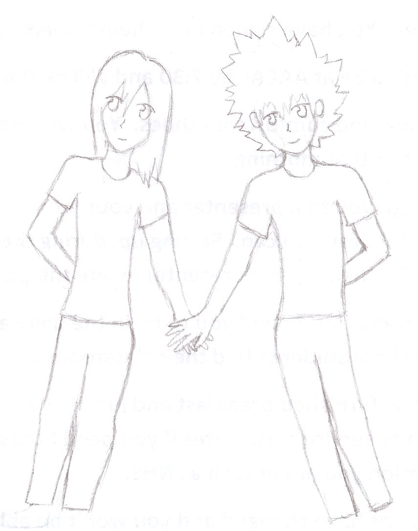 855x1086 Pictures Holding Hands Boy Girl Drawing Images,
