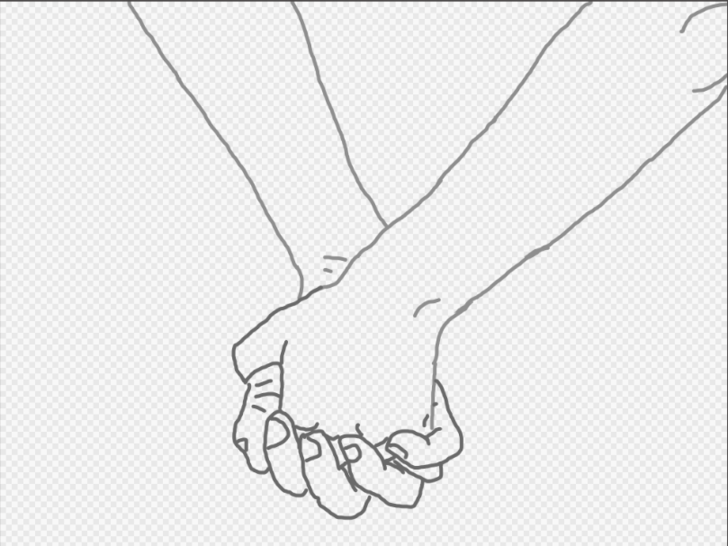 728x546 4 Ways To Draw A Couple Holding Hands