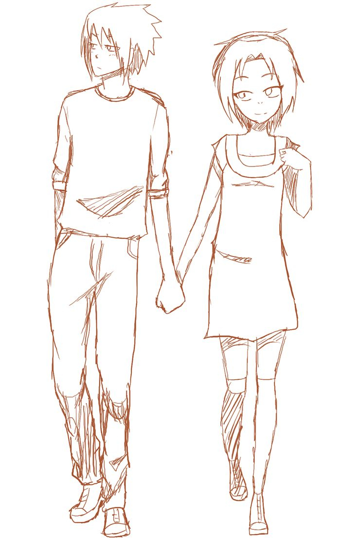 736x1109 Drawing Of Cartoon Couples Holding Hands 32 Best Images About