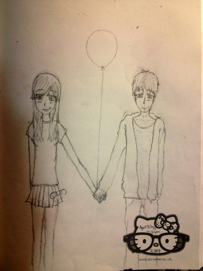 774x1032 Guy And Girl Holding Hands By Soaringthroughart