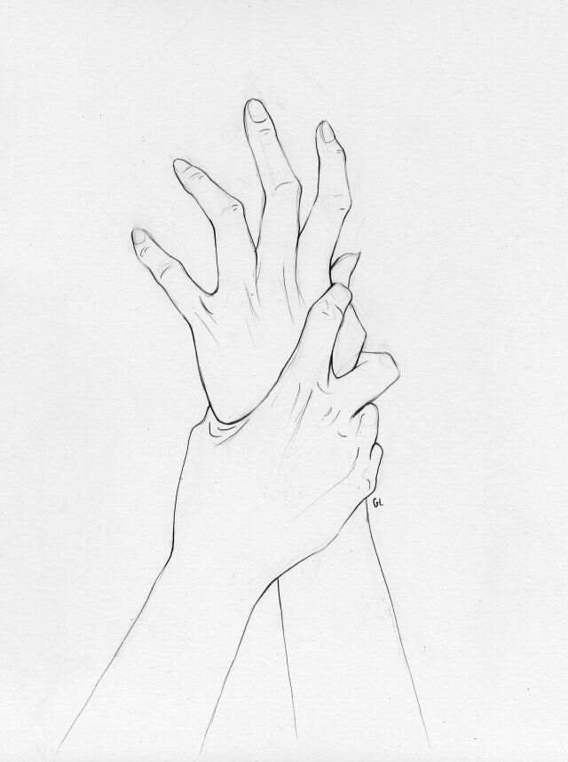 640x859 Collection Of Hand Grabbing Arm Drawing High Quality, Free