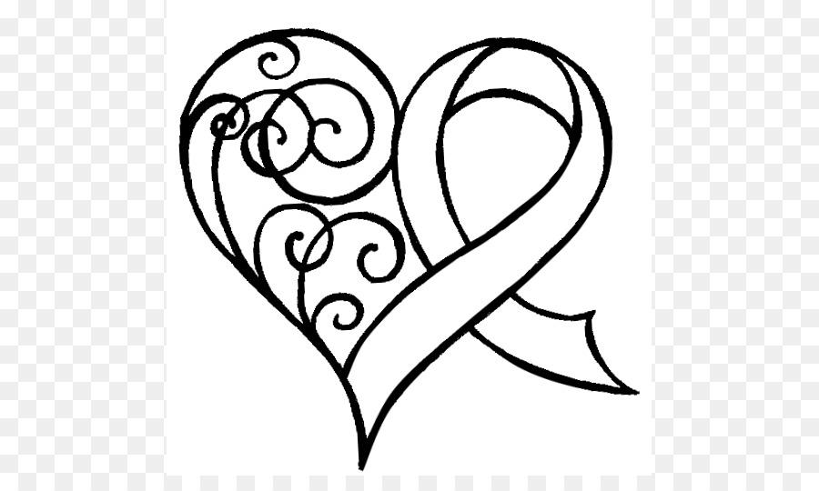 900x540 Awareness Ribbon Heart Pink Ribbon Breast Cancer Awareness