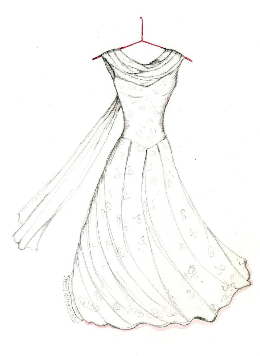 844x1158 Dress Princess Dress Princess Dress Barbie Fashion Drawing