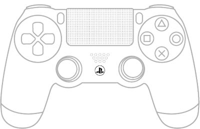 400x258 Collection Of Ps4 Controller Drawing Step By Step High