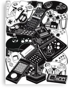 236x304 Game Boy And Nintendo Art Drawing Game Boy