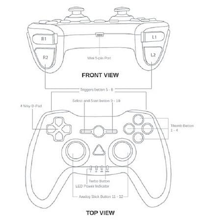 430x450 Gamepad Clipart Ps4 Controller