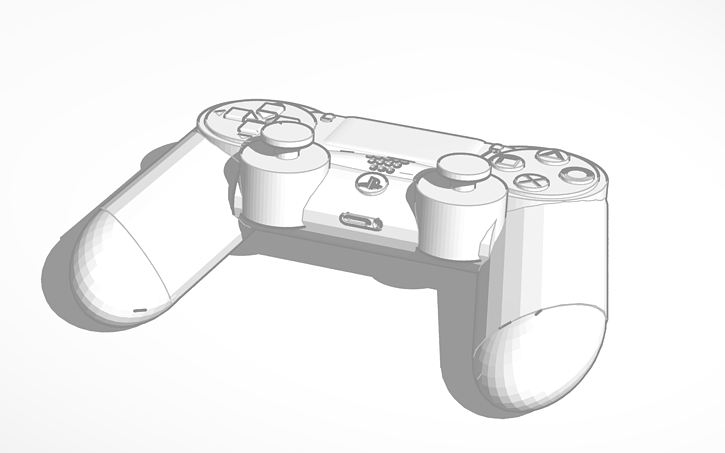 Drawing Of A Ps4 Controller At Getdrawings Com