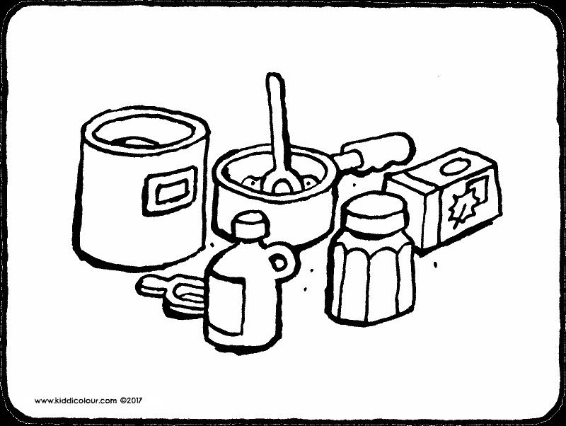 800x602 Slice Of Bread Coloring Page Coloring Page