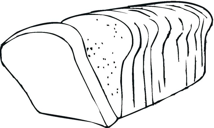 728x437 Slice Of Bread Coloring Page Coloring Pages For Kids Freaking Hot