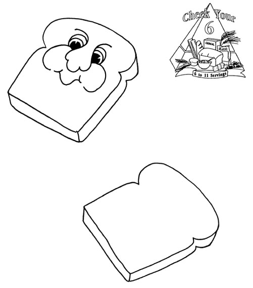 501x569 Collection Of Piece Of Bread Drawing High Quality, Free