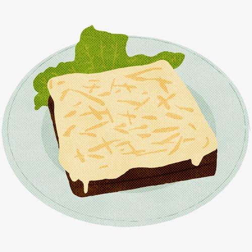 500x500 French Hand Drawing Sliced U200bu200bbread, French, Slice, Bread Png Image