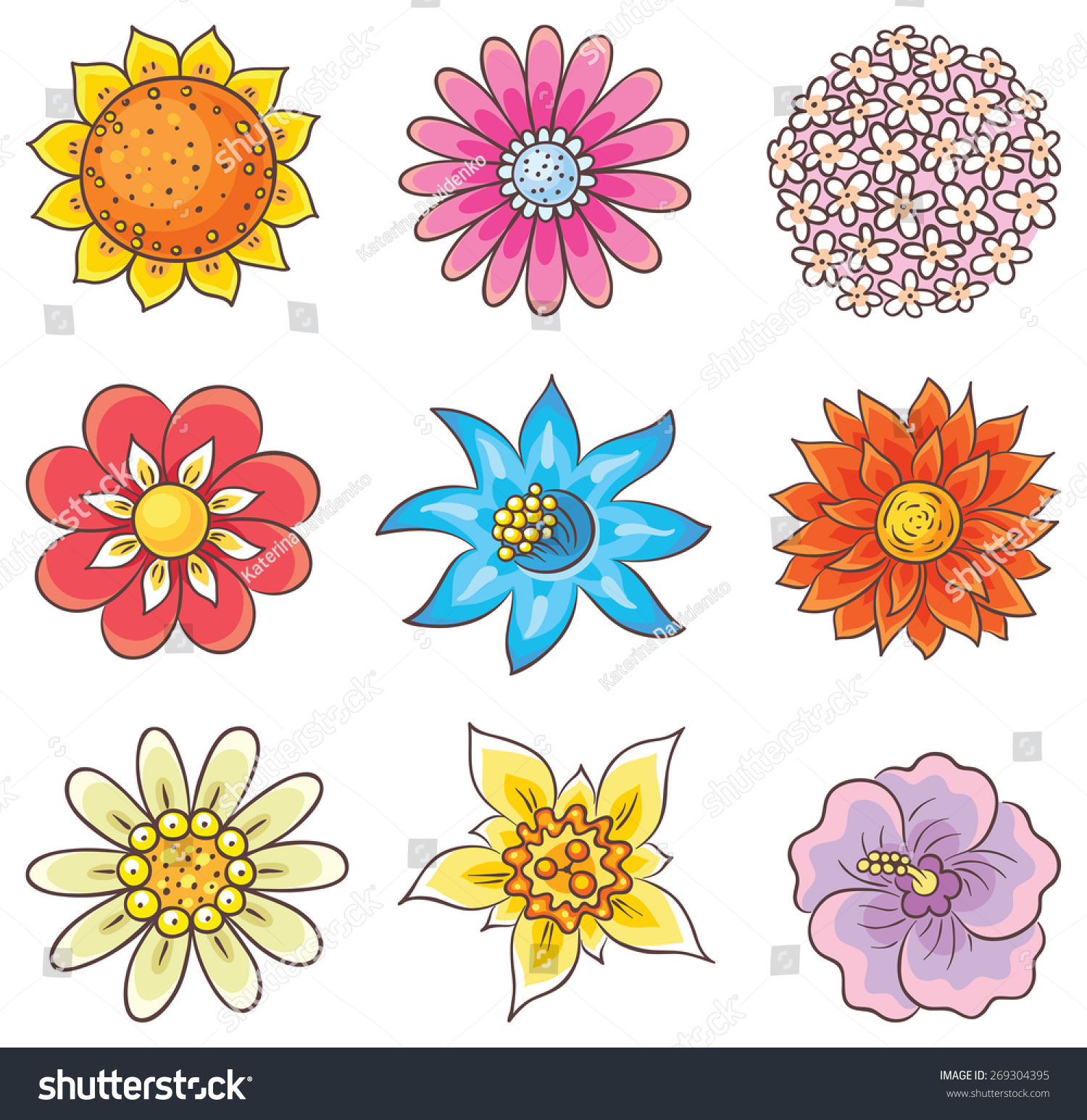1500x1546 Different Flowers To Draw Different Types Of Flower Drawings