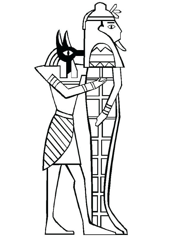 600x800 Egyptian Mummy Coloring Pages Ancient Plagues Of Printable C