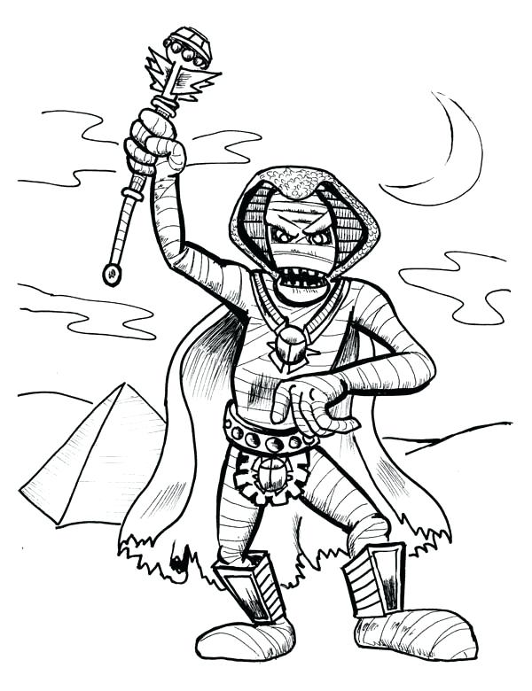 600x780 Egyptian Mummy Coloring Pages For Adults Index Ancient Mummies