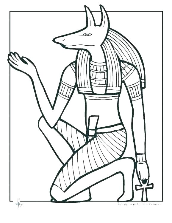 578x748 More Ancient Coloring Pages At This Link King Of Ancient Egypt