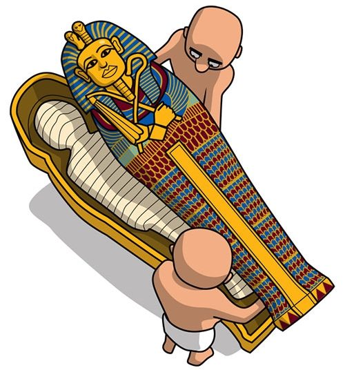 500x536 Collection Of Ancient Egypt Mummy Drawing High Quality, Free