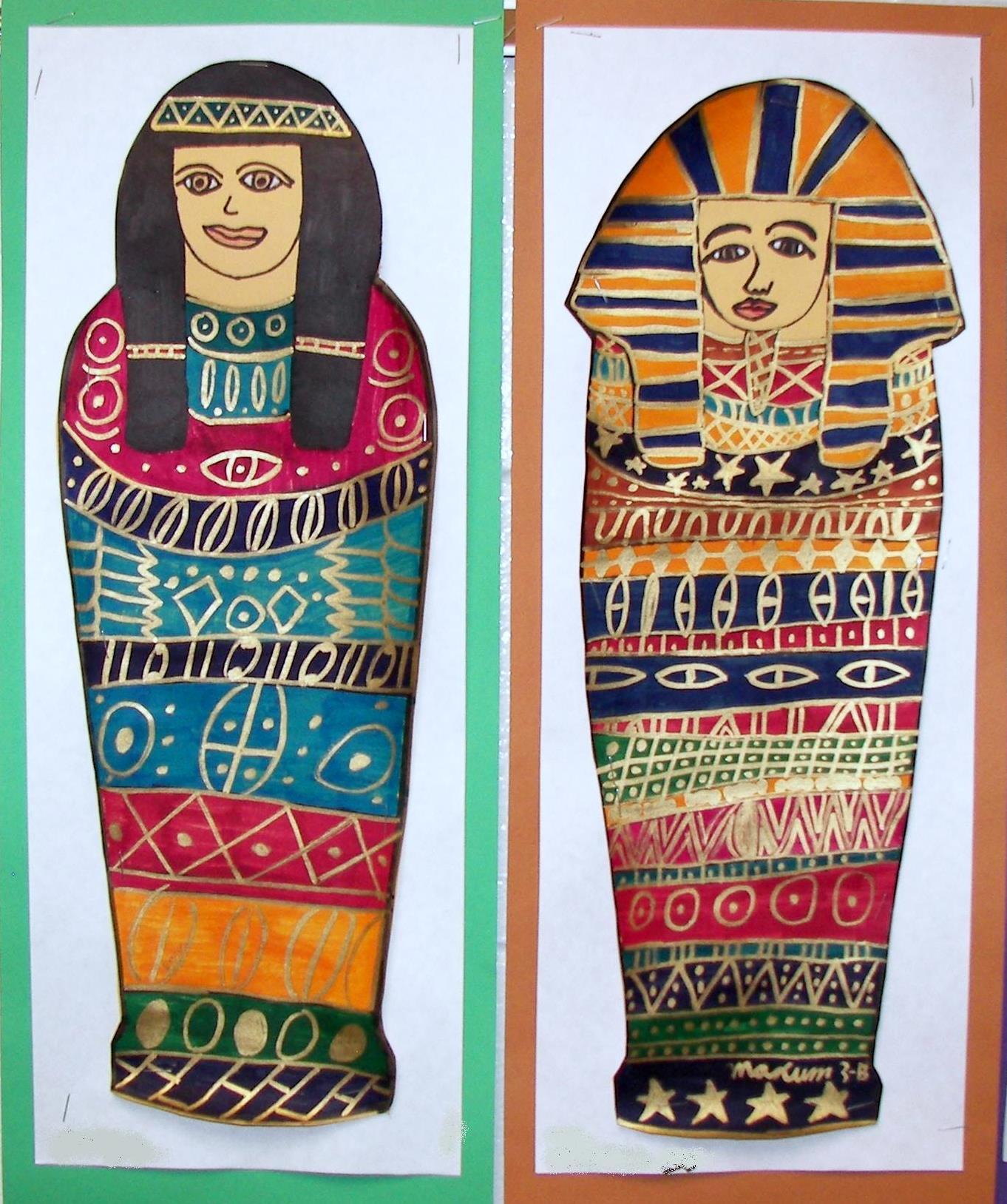 1362x1628 Egyptian Mummies K 8 Art