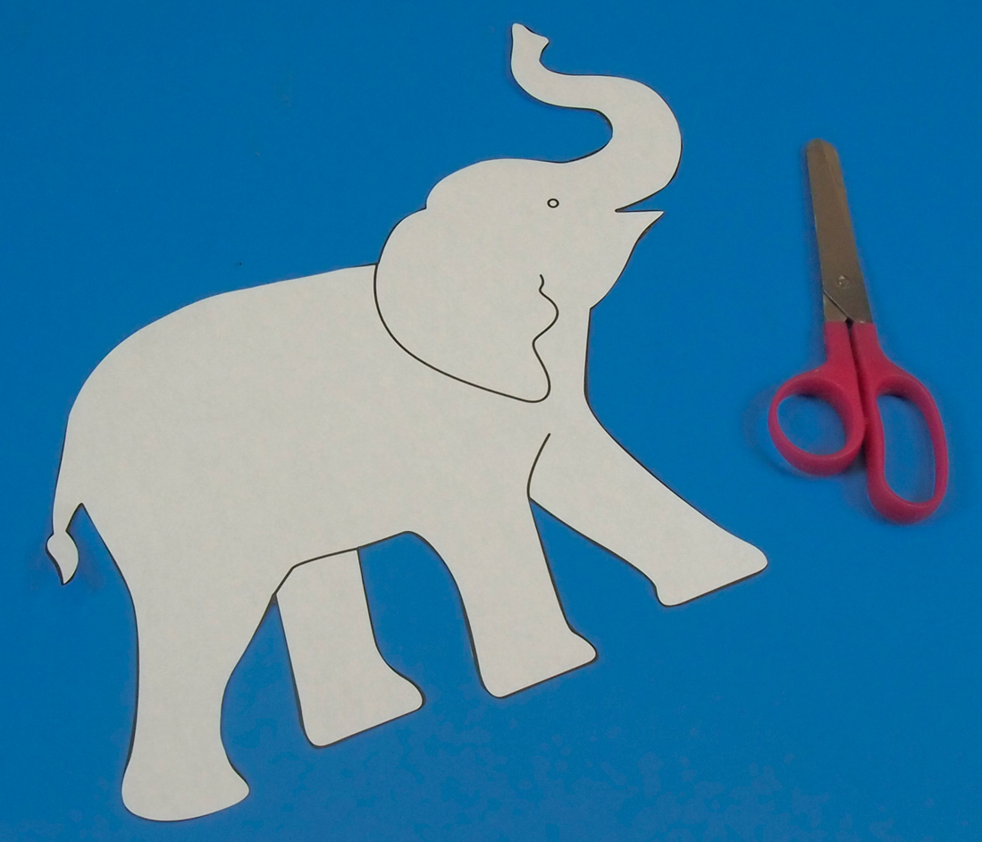 Drawing Of Elephants With Trunk Up at GetDrawings.com   Free for ...