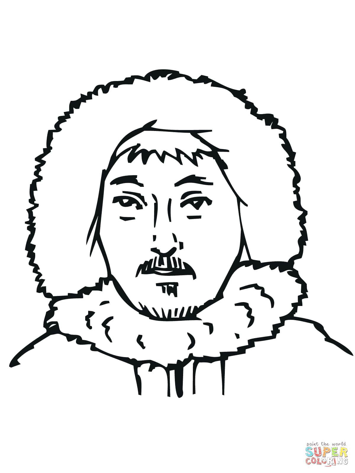Drawing Of Eskimo at GetDrawings.com | Free for personal use Drawing ...