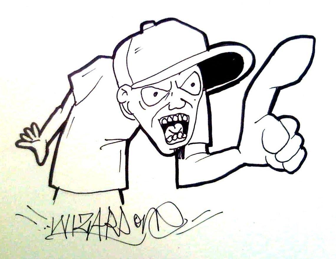 1140x879 Draw Graffiti Cartoon Characters Cartoon Graffiti Characters