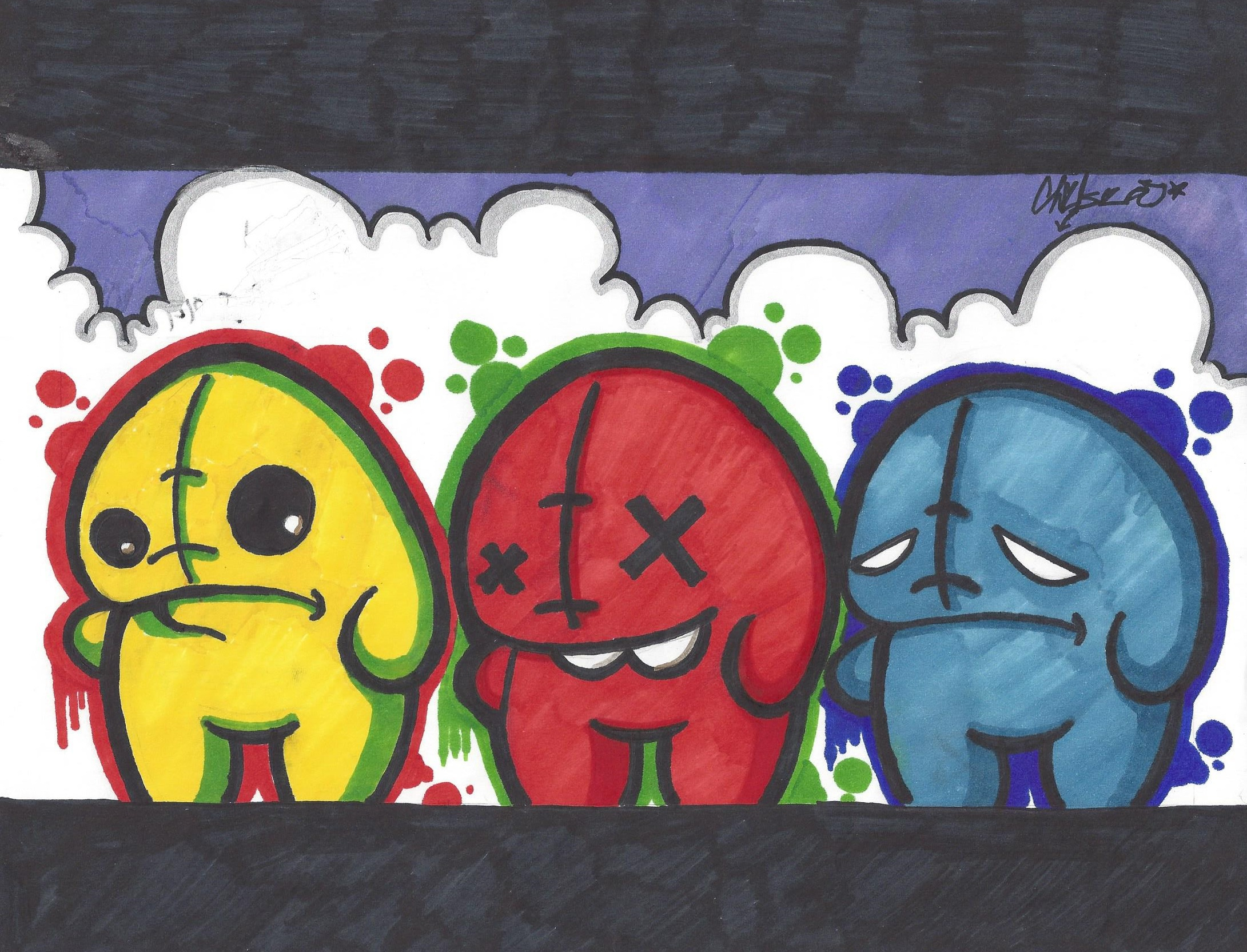 2181x1665 Funny Graffiti Characters Funny Graffiti Drawings Graffiti