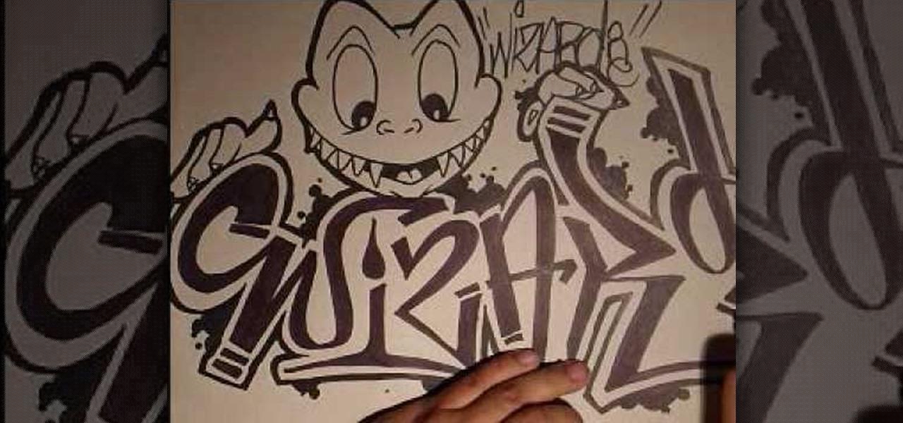 1280x600 How To Draw A Graffiti Character Graffiti Amp Urban Art Wonderhowto