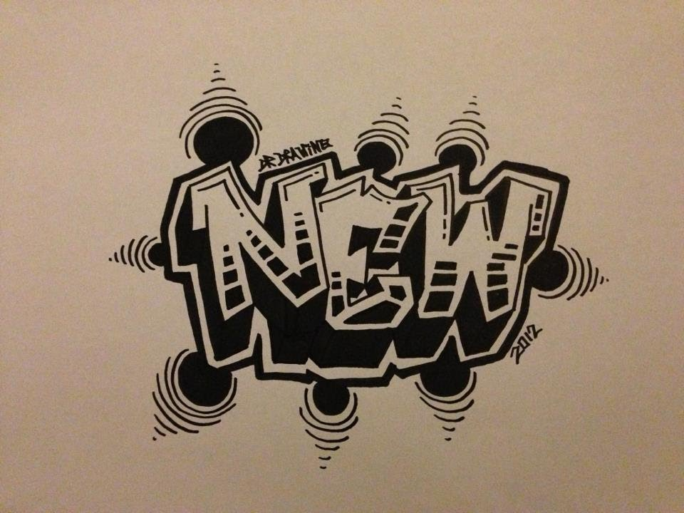 960x720 How To Draw Graffiti Letters