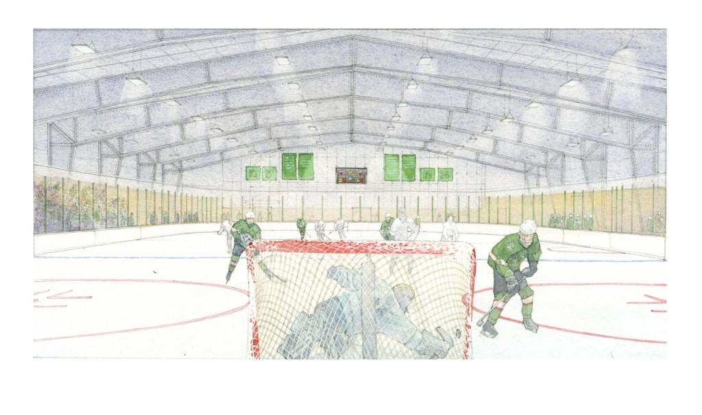 1024x606 New Hampton Ice Hockey Rink
