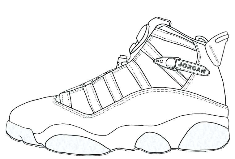 Drawing Of Kd Shoes